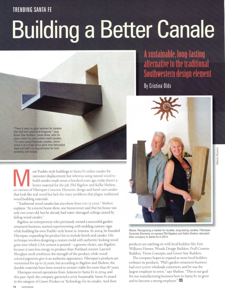 2015 Hacienda Parade of Homes article